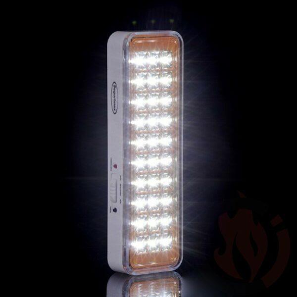 Iluminação de emergência autônoma 30 leds - Lítio