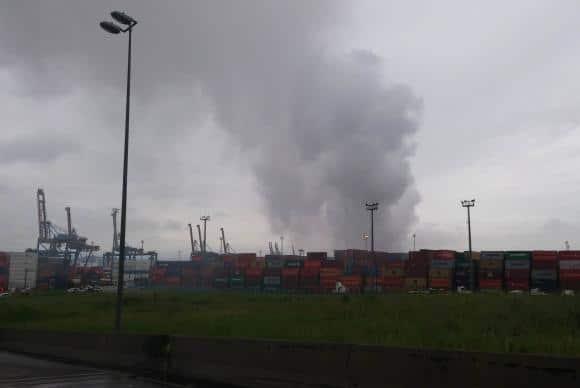 Empresa é multada em R$ 10 milhões por vazamento de gás e incêndio em terminal de cargas