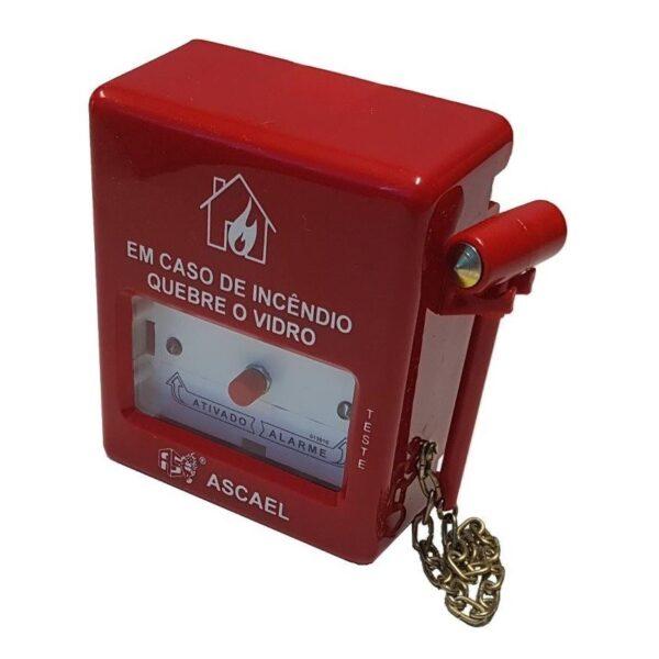 Botoeira Convencional ABS Com Martelo - AQVS-A - Ascael
