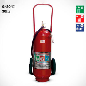 Extintor Carreta Pó Químico ABC 30kg 6A 80BC