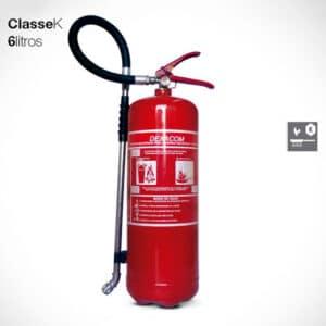 Extintor Classe K - 6 litros