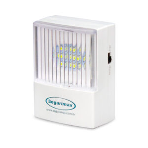 Iluminação de Emergência com Plug Retrátil 50 lúmens